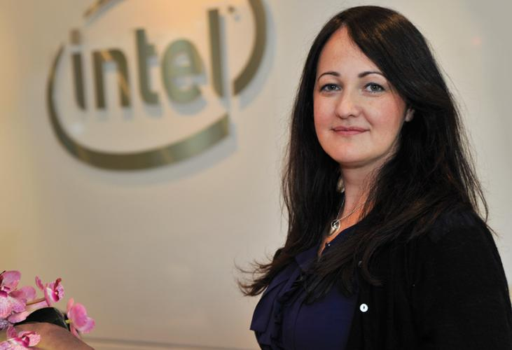 Intel's Kate Burleigh