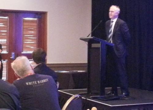 Malcolm Turnbull at Kickstart