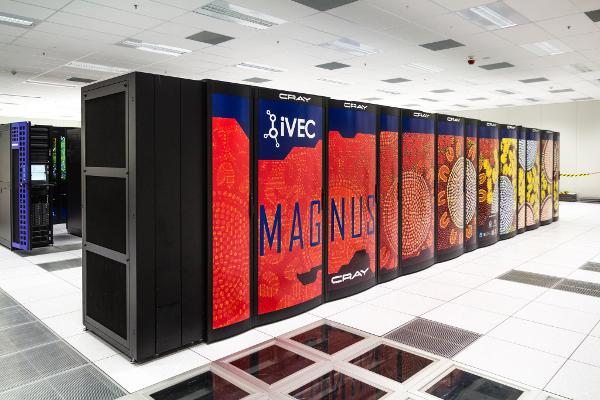 The 'Magnus' petscale supercomputer at the Pawsey Supercomputing Centre, Perth