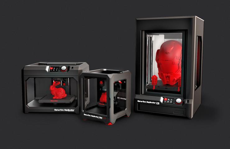 MakerBot Replicator 3D printers