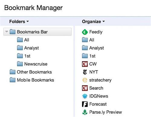 Google will return Chrome's bookmarks manager to the stark list it was before an aborted attempt to force users to adopt a visually-loaded, card-style UI.