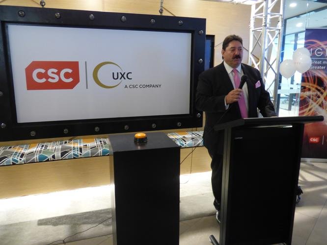 Retiring UXC Limited managing director, Cris Nicolli