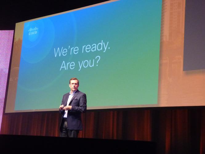 Cisco A/NZ Vice President, Ken Boal