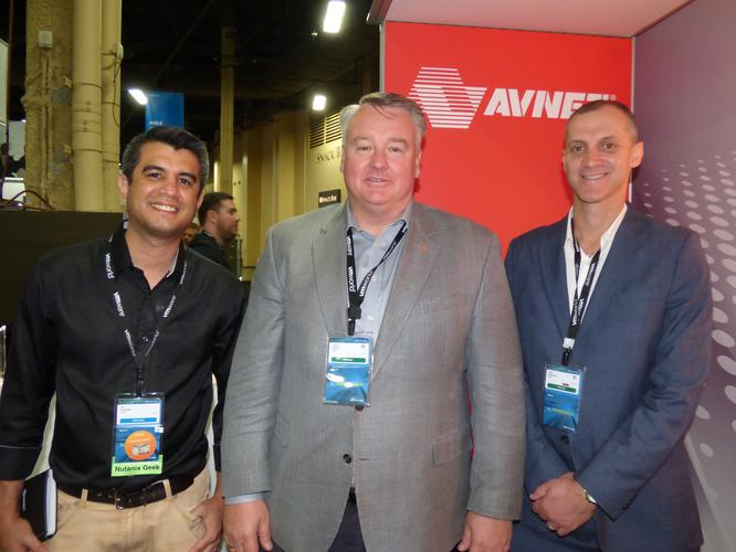 Avnet vice president and general manager A/NZ, Darren Adams (middle)
