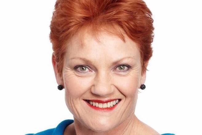 One Nation senator, Pauline Hanson