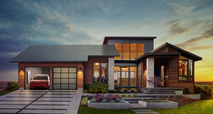 Elon Musk unveils solar panels resembling traditional roofing tiles