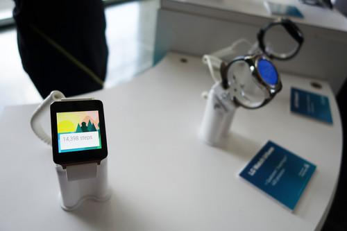 Qualcomm showed off smartwatches and other IoT devices powered by its chips at an event in San Francisco on Thursday.