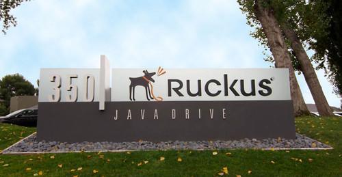 Ruckus Wireless headquarters in Sunnyvale, California