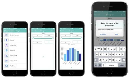 The Mobile Dashboard Designer for Salesforce's Wave Analytics Cloud