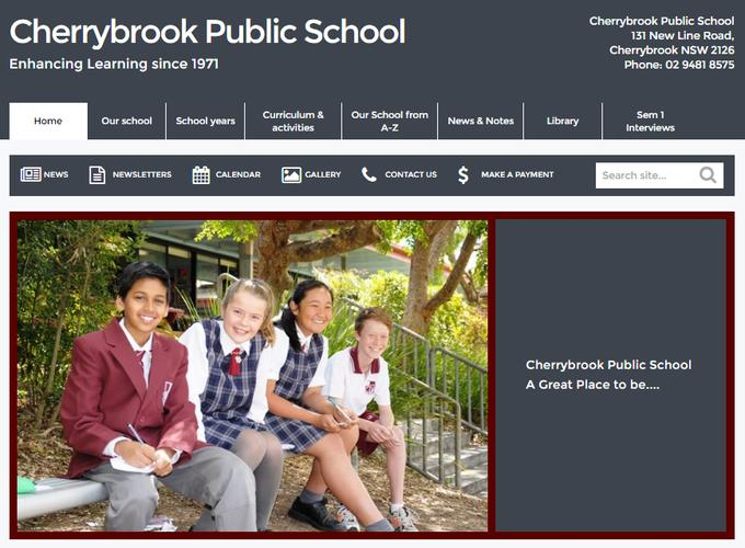 Cherrybrook Public School is one of the NSW public schools increasing community engagement through its online presence