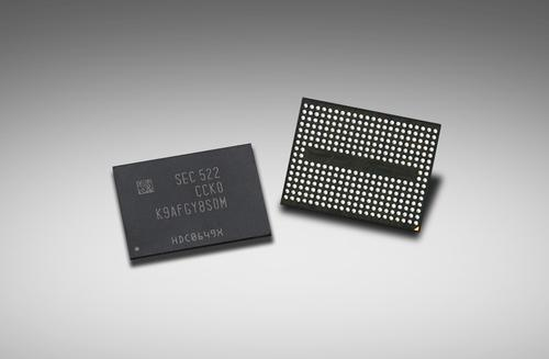 Samsung Electronics said August 11, 2015 that it has begun mass production of 256 Gb 3D NAND flash memory chips for use in solid state drives.