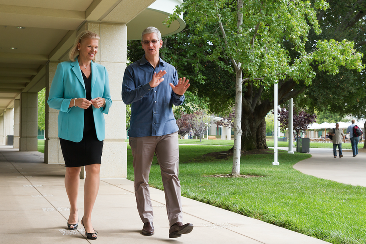 Ginni Rometty - CEO, IBM and Tim Cook - CEO, Apple