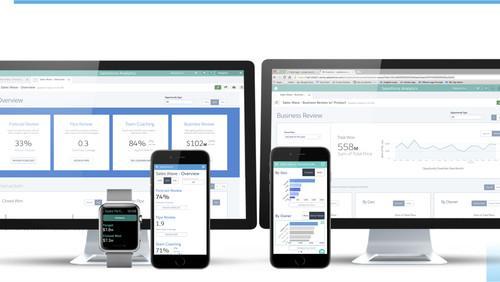 Salesforce's Sales Wave Analytics app