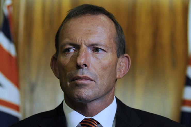 Prime Minister Tony Abbott lays out his government's vision for the knowledge economy