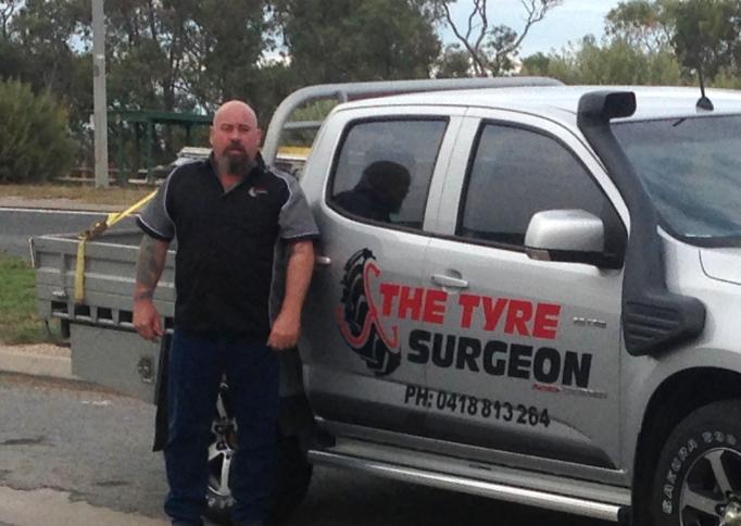 Darren Smedley, of Teilem Bend, is South Australia's first recipient of an NBN Co fixed wireless service.