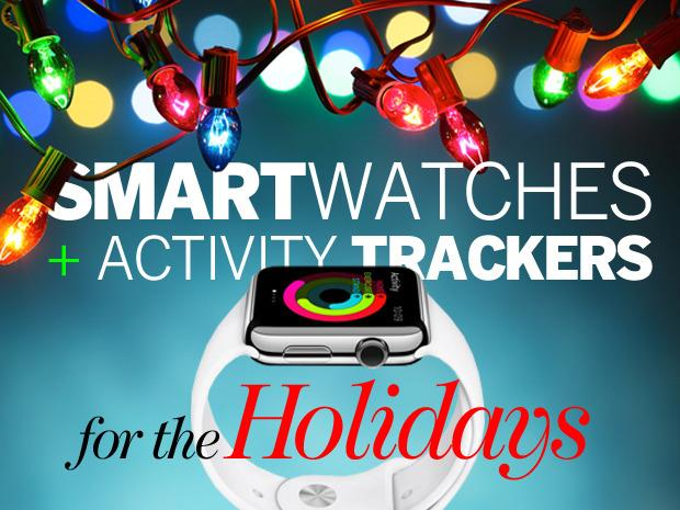 In Pictures: Smartwatches + activity trackers for the Christmas holiday season