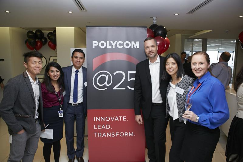 IN PICTURES: Polycom 25th anniversary party (+14 photos)