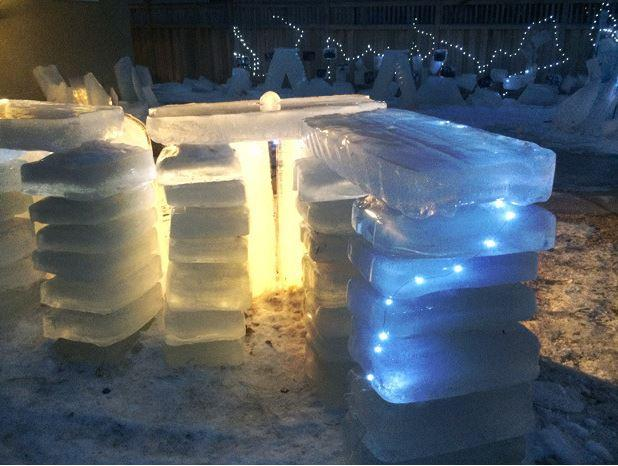 In Pictures: Backyard ice bar gets cooler with 3D printing