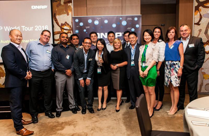 Channel combines as QNAP World Tour hits Aussie shores