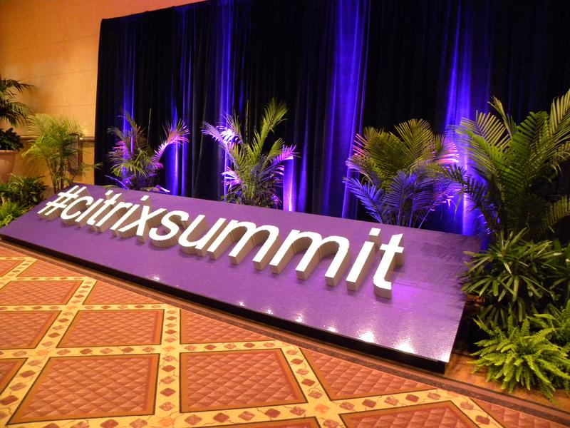 IN PICTURES: Citrix Summit 2016 Solutions Expo
