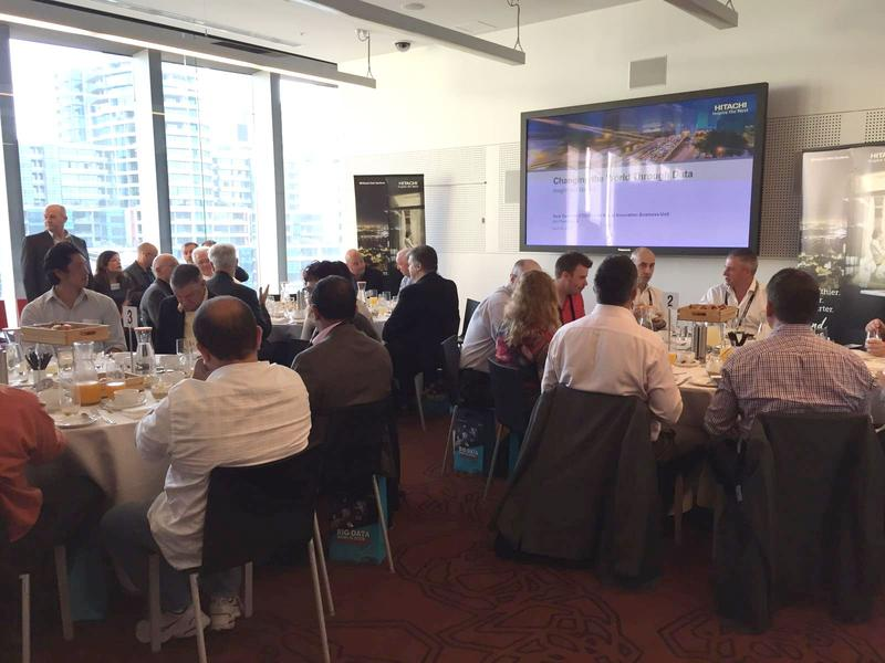 IN PICTURES: HDS Internet of Things that matter breakfast (+7 photos)