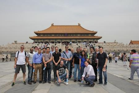 IN PICTURES: Huawei's Aussie partners take over the Forbidden City (+20 photos)