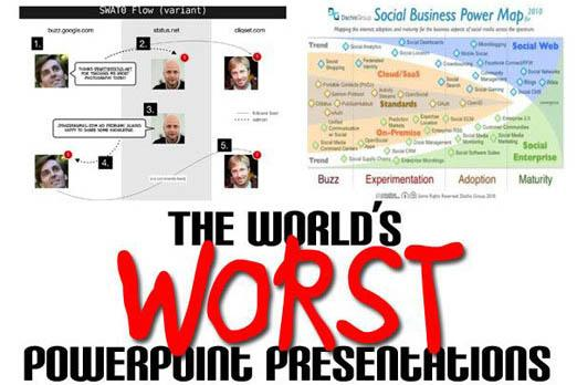 Top 10 world's worst PowerPoint presentations