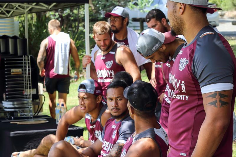IN PICTURES: Kaspersky Lab touch football with the Manly Sea Eagles (1)