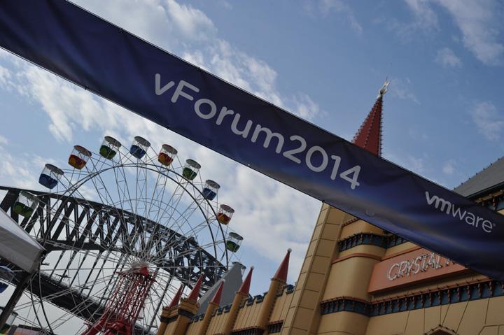 IN PICTURES: 2014 VMware vForum, Luna Park, Sydney, Day 2 (+14 photos)
