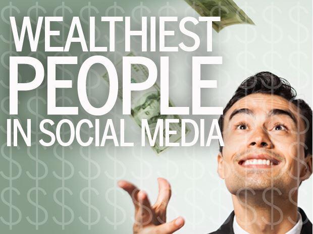 In Pictures: Meet the 12 wealthiest people in social media