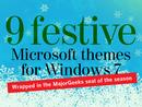 SLIDESHOW:9 festive Microsoft themes for Windows 7
