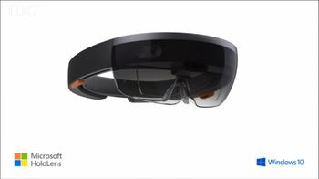 Microsoft enters 3D headset race with HoloLens