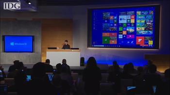 What you missed at Microsoft's Windows 10 event in 2 minutes