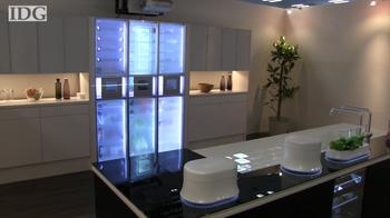 Home of the future: moveable cook tops, a door that knows you
