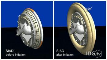 NASA's flying saucer fails second test
