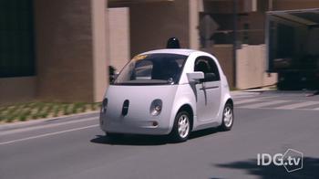 Watch as we follow Google's new self-driving car