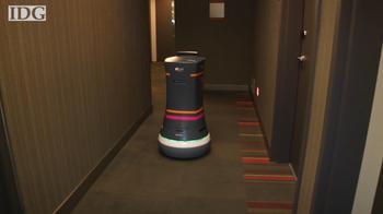 Robot bellhop 'Botlr' at your service