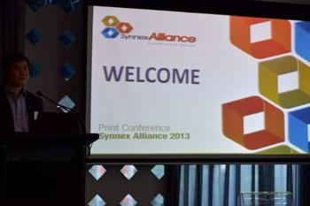 IN PICTURES: Synnex Alliance Print Conference 2013 - Perth (+41 photos)