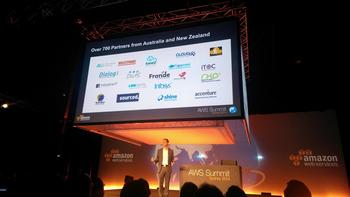 IN PICTURES: Amazon Web Services showcases partner projects at Sydney Summit