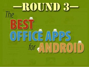 In Pictures: Best office apps for Android, round 3