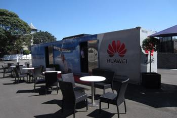 IN PICTURES: Huawei mobile broadband demo truck