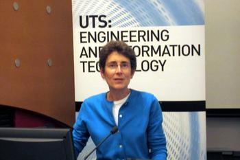 IN PICTURES: Alcatel-Lucent Bell Labs public lecture at UTS, Sydney