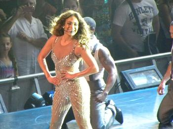 IN PICTURES: JLo performs in Sydney