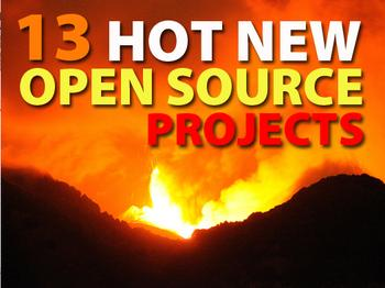 In Pictures: 13 hot new open source projects