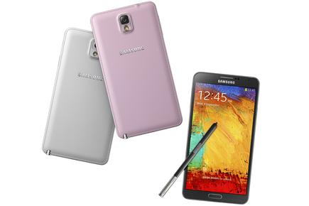 The Samsung Galaxy Note 3: available from Thursday, 3 October in Australia.