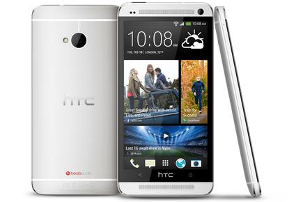 The new HTC One smartphone.