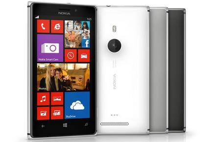 The Nokia Lumia 925.