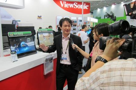 ViewSonic at this year's Computex Taipei.