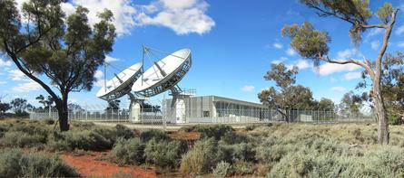Rendered image of Bourke LTSS ground station