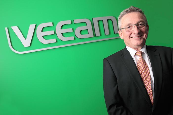 Veeam A/NZ head of alliances - Peter Bender